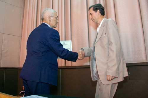 Церемония награждения  сотрудников института наградами Госкорпорации «Росатом».